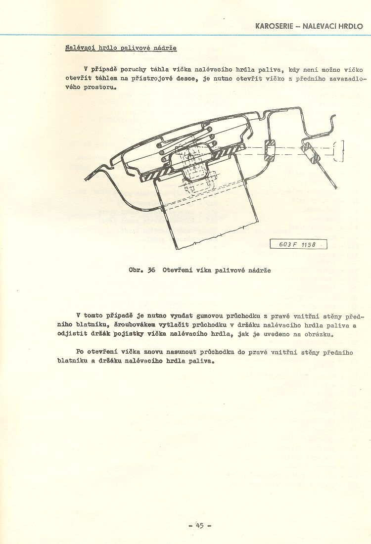 Dodatek k d lensk pr rucce Tatra 2603 Strana 45 Strana 45