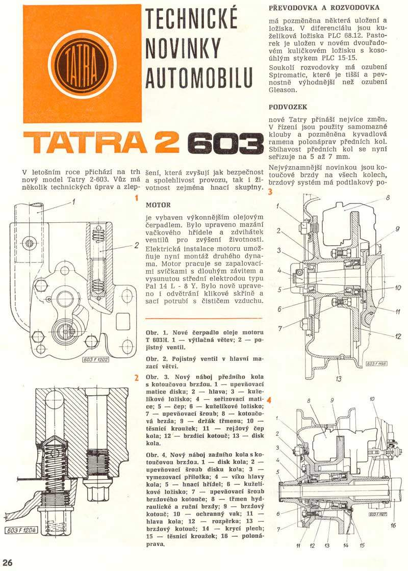 novinky automobilu Tatra 2